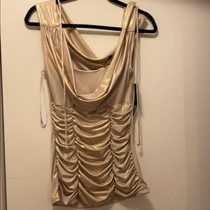 Gold party shirt
